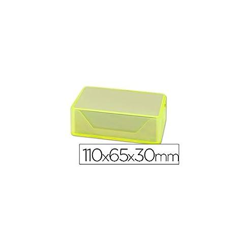 Liderpapel PL01 - Caja para tarjetas de visitas: Amazon.es: Oficina y papelería