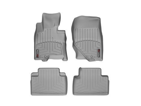 2014 Infiniti QX70 Grey WeatherTech Floor Liners (Full Set: 1st & 2nd Row)