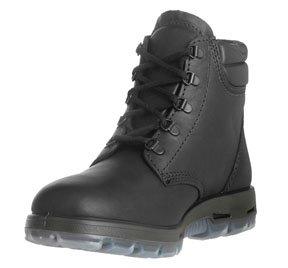 Outback, 6lacets noir cuir bottes, sans pointe en acier, Taille 8,5