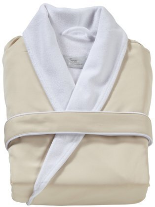 Kassatex SRK-149-CR Spa Robe, Cream (Large/X-Large)