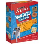 Alpo Variety Snaps Little Bites with Beef, Bacon, Cheese, and Peanut Butter Flavors - 32 Oz. (Pack of 2)