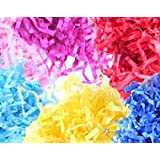 CHEAP SHREDDED TISSUE PAPER - PERFECT FOR HAMPERS, PARTY BAGS, BIRTHDAY & CHRISTMAS PRESENTS