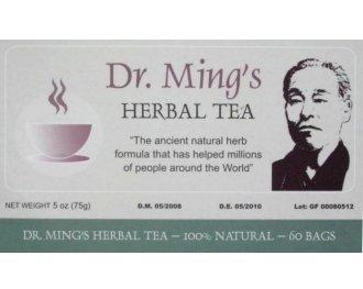 Te Chino del Dr. Ming Chinese Tea 60 sacs 100% original de perte de poids
