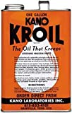 Kano Kroil Penetrating Oil 1 gallon loosen frozen parts