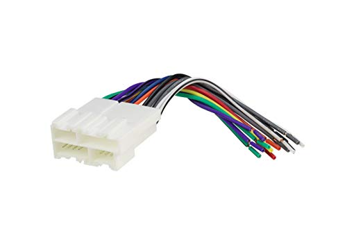 Scosche GM02B Wire Harness to Connect An Aftermarket Stereo Receiver for Select 1988-2005 GM Vehicles ()