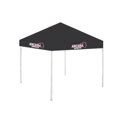 Arcadia 9 ft x 9 ft Black Tent 'Official Logo' by CollegeFanGear