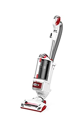 Shark Rotator Professional Upright Corded Bagless Vacuum for Carpet and Hard Floor with Lift-Away Hand Vacuum and Anti-Allergy Seal (NV501), Red