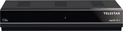 Telestar digiHD TC 1 HDTV Kabel Receiver (Conax Kartenleser, HDMI, USB, Internetportalfunktion, Mediaplayer) schwarz