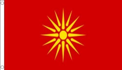 AZ FLAG Bandera de Macedonia Antigua 150x90cm - Bandera Macedonia ...
