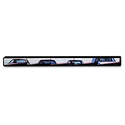Rally Panoramic 5-Panel Rearview Mirror, Easy Installation, Fits All Cars, SUVs, Trucks and Vans (91515): Automotive