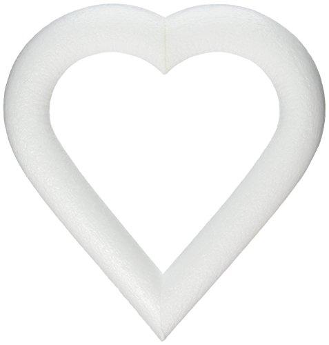 FloraCraft Flora Craft Styrofoam Extruded Heart 9