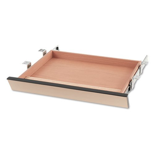 (HON COMPANY, Laminate Angled Center Drawer, 22w x 15-3/8d x 2-1/2h, Natural Maple)