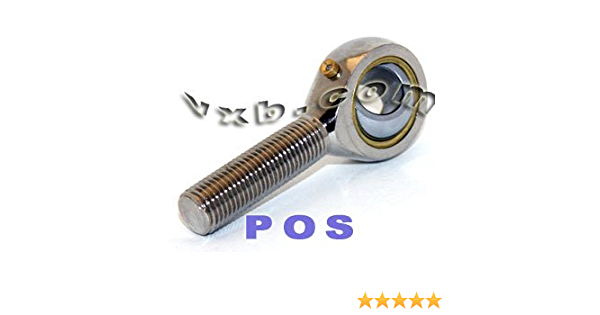 PHS6EC 6mm Rose Joint Female Rod End Bearing M6 Right Hand Maintenance Free RVH