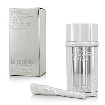 La Prairie Cellular Swiss Ice Crystal Transforming Cream SPF 30 for Women Treatment, No. 20 Nude, 1 Ounce
