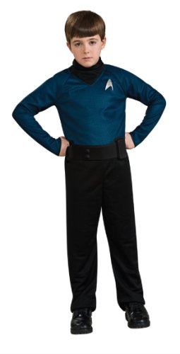Stark Trek Spock Action Costume Box Set, Child Size 4 to 6