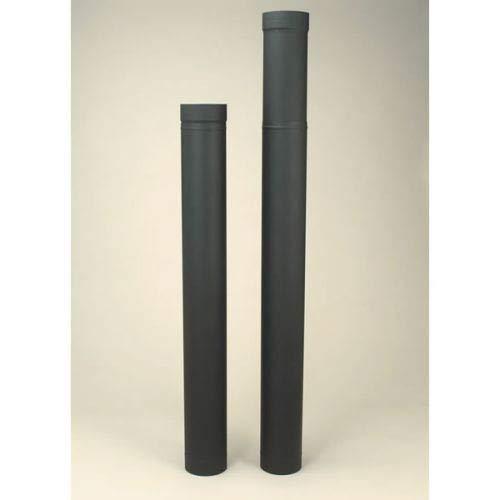(Copperfield 21135 6 x 38 Inch-70 Inch Adjustable Length Heat-fab 22-ga Welded Black)