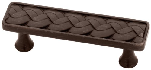 - Liberty Hardware P15444C-VBR-C Weave Kitchen Cabinet Hardware Drawer Handle Pull, 76mm, Venetian Bronze