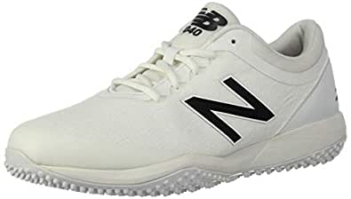 New Balance Mens 4040v5 Turf White Size: 8.5