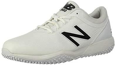 New Balance Mens 4040v5 Turf White Size: 8