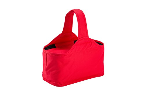 (Kids Foldable Reusable Insulated Thermal Picnic Lunch Bag Box Tote W/ Zipper Closure Carrying Handle (Ice Cream))