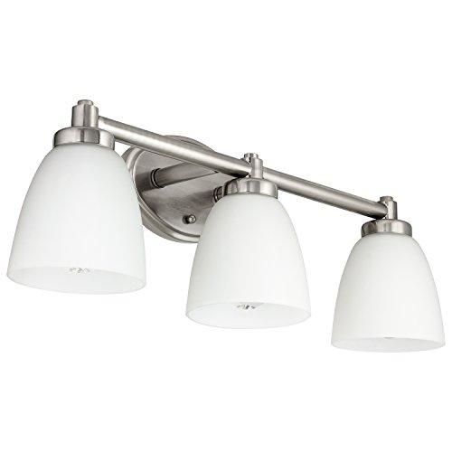 Light 3 Bell (Sunlite 45059-SU Bathroom Vanity Light Fixture 24