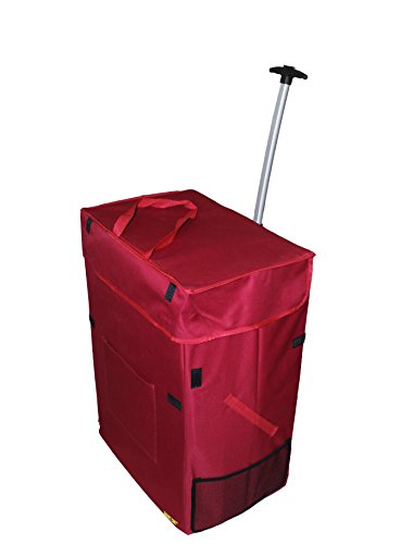 jumbo-smart-cart-red-rolling-multipurpose-collapsible-basket-cart-scrapbooking-laundry