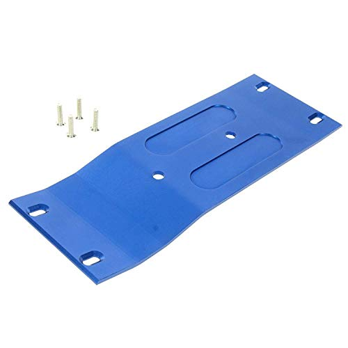 Savage Center Skid Plate - Raidenracing Aluminum Alloy Center Middle Skid Plate HPI 1/8 Savage Flux 1pc - Blue