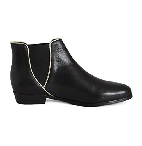 Londoner Boots 45600 Zwart Zwart