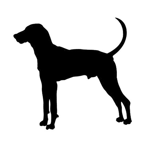 DECAL-STYLE - 15.2x14.5CM Treeing Walker Coonhound Dog Vinyl Decal Creative Car Sticker Car Styling Motorcycle Decoration (New Treeing Walker)