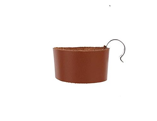 Kikkerland Leather Bike Cup Holder (Holder Coffee Bicycle)