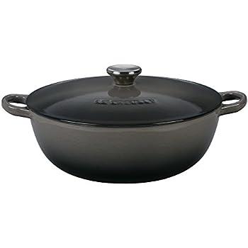 Le Creuset Enameled Cast Iron 4.5QT. Soup Pot - Oyster