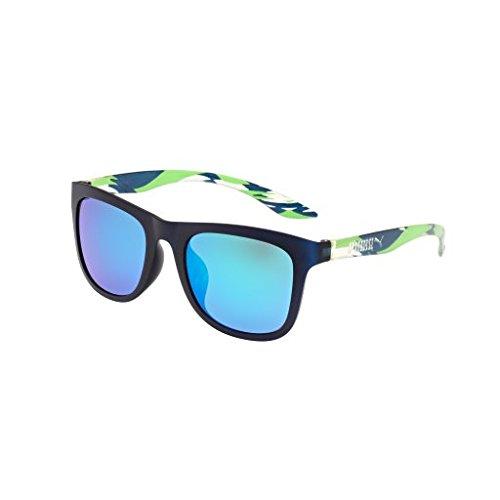 (Sunglasses Puma PU 0016 SA PU 0016 16 SA SA 16 BLUE / GREEN / GREEN)