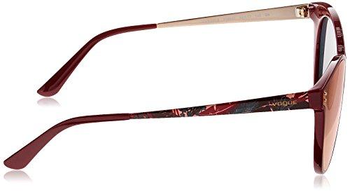 de Vogue Mujer Sol para Dark Gafas Rojo Red 0Vo5205S qRARwxErnv