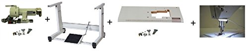 Table,stand,servo motor, light for single needle sewing machines Juki Singer - Needles Yamata