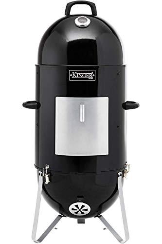Kinger Home 18 Inch Vertical BBQ Smoker Wood Charcoal Pellets