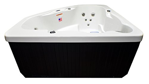 Hudson Bay 3 Person 14 Jet Spa with Stainless Jets and 110V GFCI Cord Included.
