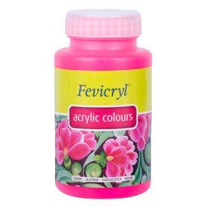 2a3cc7d3fd9 Pidilite Fevicryl Acrylic Neon Colour (500 ml, Pink)
