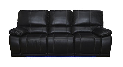 Dual Recliner Sofa, Mesa Black ()