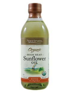 Spectrum Organic High Heat Sunflower Oil (6 X 16 Fl Oz) by Spectrum