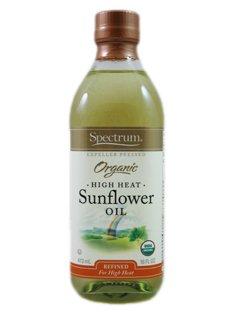 Spectrum Organic High Heat Sunflower Oil (6 X 16 Fl Oz)