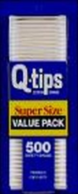 Q Tips 500'S Value Pack 21 pcs sku# 906064MA by UNILEVER HPC-USA