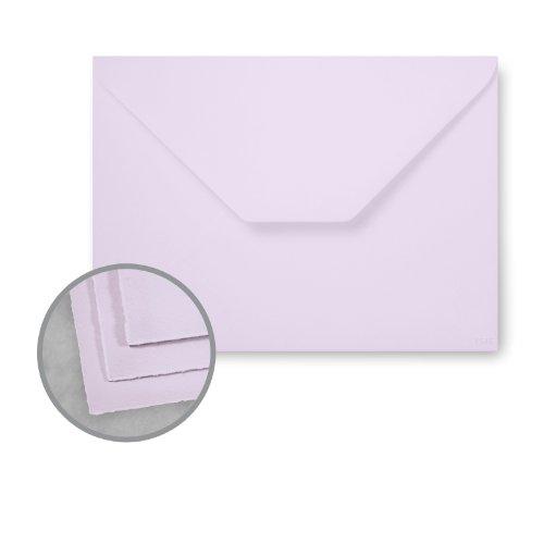Arturo Envelopes - Arturo Lavender Envelopes - Arturo Large Invitation (6.13 x 8.38) 81 lb Text Felt 100 per Box