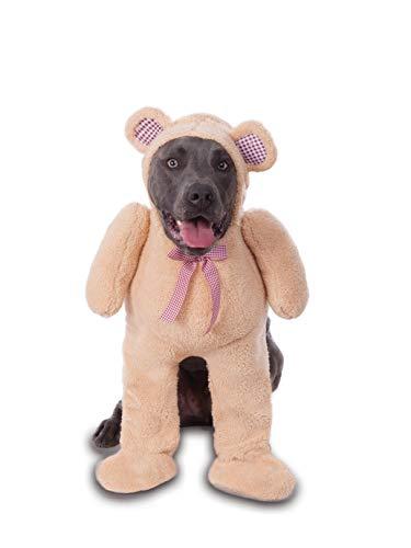 Big Dog Walking Teddy Bear Pet Costume