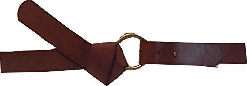 Style&co. Women's 1 1/4'' Faux Tie Pull-Back Belt (S/M, Brown)