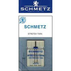 Schmetz Stretch Twin Needles - Size 4.0 75/11
