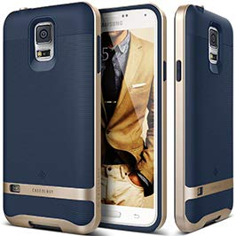 caseology wavelength for galaxy s5 case (2014) stylish grip design navy bluecaseology wavelength for galaxy s5 case (2014) stylish grip design navy blue