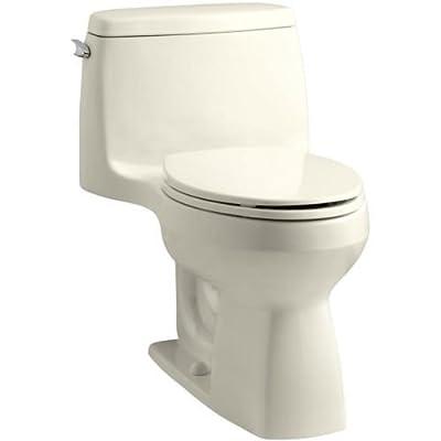 KOHLER K-1.28 GPF Santa Rosa Comfort Height One-Piece Compact Elongated Toilet
