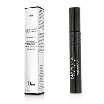 Christian Dior 10ml/0.33oz Diorshow Black Out Mascara Waterproof - # 099 Kohl Black