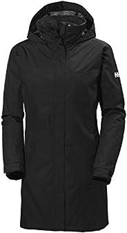 Helly Hansen Women's Aden Insulated Waterproof Windproof Breathable Long Length Packable Hood Rain Coat Ja