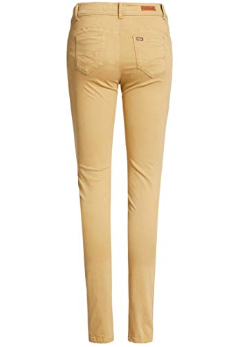Khujo Mujer Beige Skinny Pantalón Liso Para qrwWS6qA